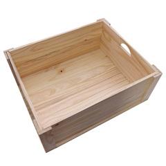 Caixa Organizadora em Pinus Grande - Super Max