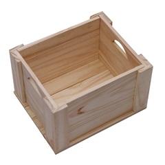 Caixa Organizadora em Pinus Pequeno - Super Max