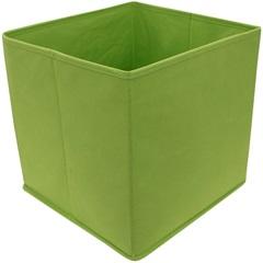 Caixa Organizadora em Tnt 28x28cm Verde - Casanova