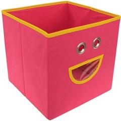 Caixa Organizadora em Tnt Smile 28x28cm Pink - Casanova