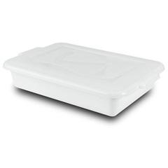 Caixa Organizadora Gourmet com Tampa 4 Litros Branca - Plásticos Santana