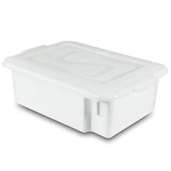 Caixa Organizadora Gourmet com Tampa 5,65 Litros Branca - Plásticos Santana