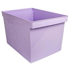 Caixa Organizadora Multiuso Larga 43,5x29cm Lilás - Dello