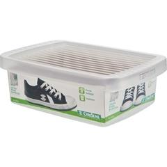 Caixa Organizadora para Sapato Infantil 14,8x21,8cm Transparente - Ordene