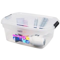 Caixa Organizadora Retangular em Plástico 20 Litros Transparente - Sanremo