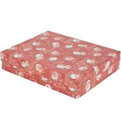 Caixa Organizadora Rosas 29x23x6cm - Paloni