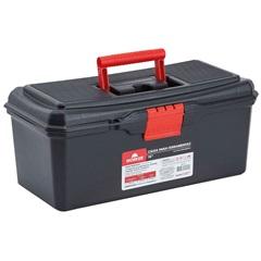 Caixa para Ferramentas 16'' em Polipropileno 18x19x41cm Preto E Vermelho - Worker