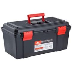 Caixa para Ferramentas 22'' em Polipropileno 27x28x55,5cm Preto E Vermelho - Worker