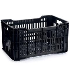 Caixa para Mercado Ecobox 45 Litros Preta - Arthi