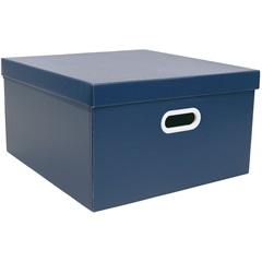 Caixa Quadrada Big Azul 20x40cm  - Boxgraphia