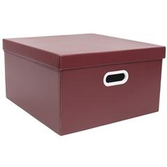 Caixa Quadrada Big Vermelha 20x40cm  - Boxgraphia