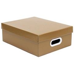 Caixa Stok Paper Kraft Marrom 13x29cm  - Boxgraphia