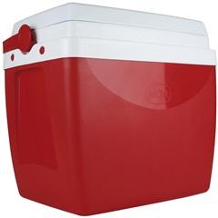 Caixa Térmica 26 Litros Vermelha E Branca - MOR