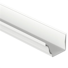 Calha Aquapluv Style 13x9cm com 3 Metros Branco