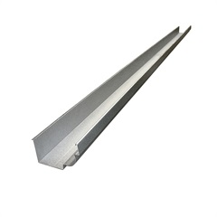 Calha Moldura em Aço com 33cm E 2 Metros - Calha Forte