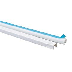 Canaleta com Adesivo Dexson 10x10mm com 2 Metros Branca  - Schneider