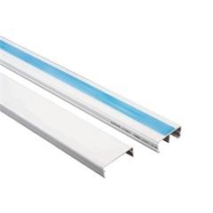 Canaleta com Adesivo E Divisória Dexson 32x12xmm com 2 Metros Branca
