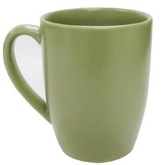 Caneca em Cerâmica 375ml Verde - Importado