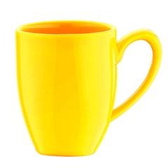 Caneca em Cerâmica Flo 300ml Amarelo - Casanova