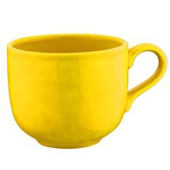 Caneca em Cerâmica Jumbo 500ml Amarelo - Casanova