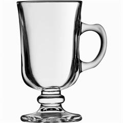 Caneca para Café em Vidro Lisa Mini Bill 120ml - Globimport