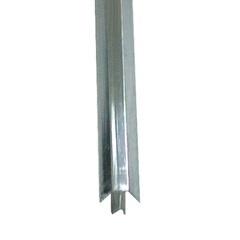 Cantoneira Sextavada 124 para Azulejo Alumínio Polido 3m - Decal