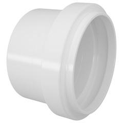 Cap para Esgoto Série Normal 50mm Branco  - Fortlev