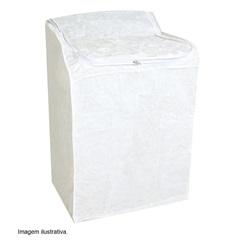 Capa Máquina Lavar Flanelada Pequena 4,140kg 31,5x40,5x31,5 Secalux Ref.:481700  - Secalux