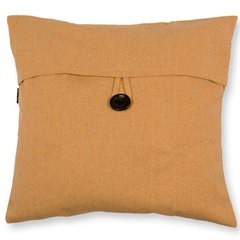 Capa para Almofada em Algodão Romantic 40x40cm Amarela - Casa Etna