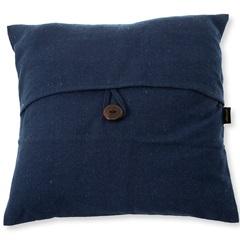 Capa para Almofada em Algodão Romantic 40x40cm Azul - Casa Etna