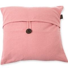 Capa para Almofada em Algodão Romantic 40x40cm Rosa - Casa Etna