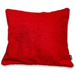 Capa para Almofada em Jacquard Berta 50x50cm Vermelha - Casa Etna