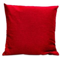Capa para Almofada em Jacquard Paris 45x45cm Vermelha - Casa Etna