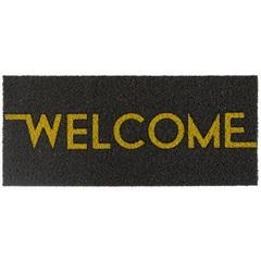 Capacho Vinil Long Text Welcome 30x70cm - Kapazi