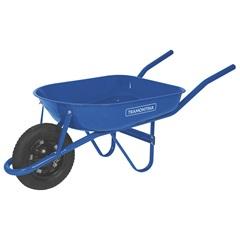 Carrinho de Mão com Caçamba Arredondada 50 Litros Azul - Tramontina