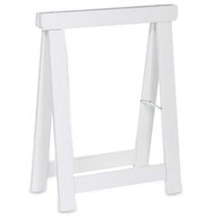 Cavalete Dobrável Stand 60x28x74cm Branco - Casa Etna