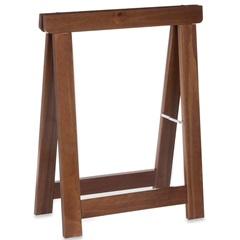Cavalete Dobrável Stand 60x28x74cm Imbuia