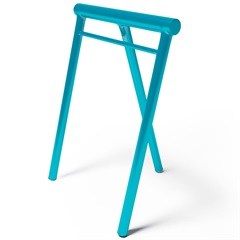 Cavalete em Aço Lucy Azure 72x58x37cm Azul Claro - Casa Etna