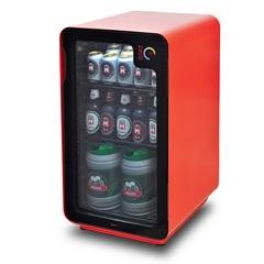 Cervejeira Frost Free com Wi-Fi 220v com 100 Litros Vermelha - Memo