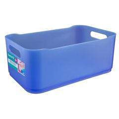 Cesta Fit Grande Azul 4,5 Litros  - Coza