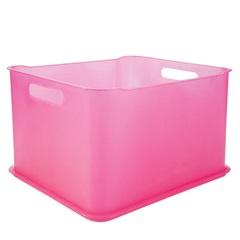 Cesta Organizadora em Polipropileno Fit Ultra Rosa - Coza