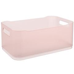 Cesta Organizadora Fit Grande 30,5x18,5cm Rosa Blush - Coza