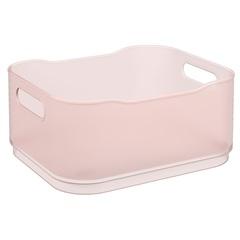 Cesta Organizadora Fit Pequena 18,5x15cm Rosa Blush - Coza