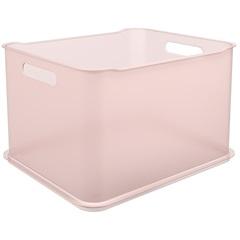 Cesta Organizadora Fit Ultra 38x32cm Rosa Blush - Coza