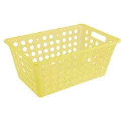 Cesta Organizadora One Grande 28,8x19,1cm Amarela - Coza