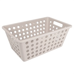 Cesta Organizadora One Grande 28,8x19,1cm Light Gray - Coza