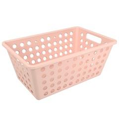 Cesta Organizadora One Grande 28,8x19,1cm Rosa Blush - Coza