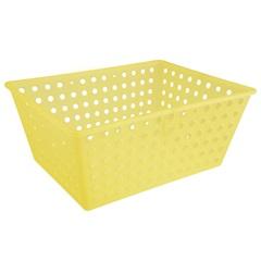 Cesta Organizadora One Maxi 39x30cm Amarela - Coza