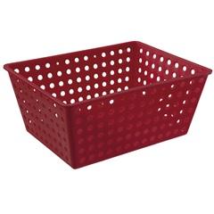Cesta Organizadora One Maxi 39x30cm Vermelha - Coza