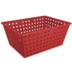 Cesta Organizadora One Maxi 39x30cm Vermelho Bold - Coza